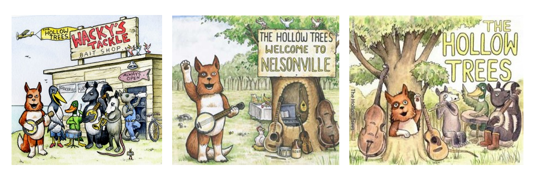Hollow Trees Kid's Folk Music CDs