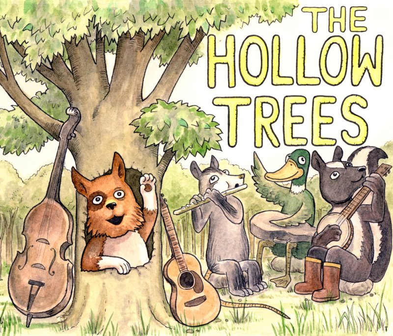 The Hollow Trees Cover - 800