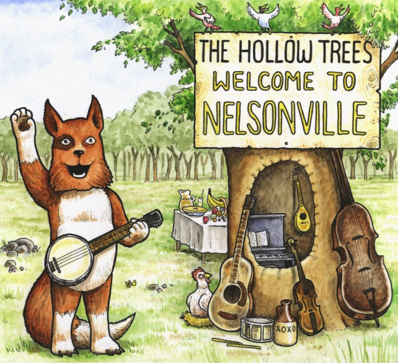 The Hollow Trees - Welcome to Nelsonville - Cover - 800